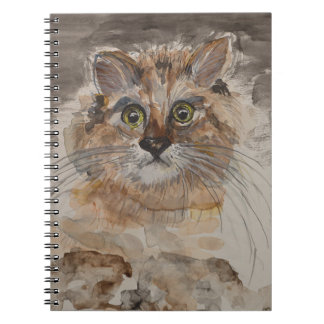 Startled Stella Notebook (80 Pages B&W)