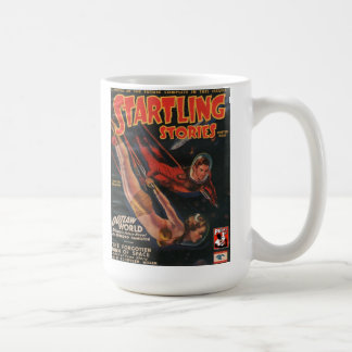 Startline Stories Pulp Magazine w/Captain Future Coffee Mug