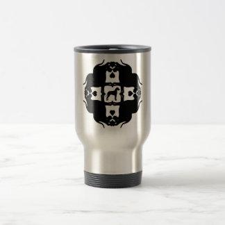 Starts with One - Black Travel Mug