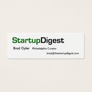 StartupDigest curator card