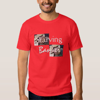 Starving Banker In Red Shirt