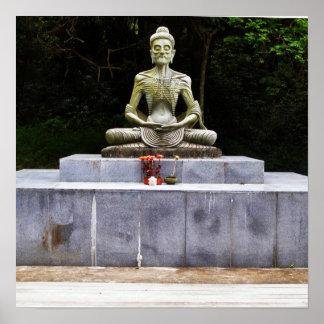 Starving Buddha  Fasting Siddhartha poster