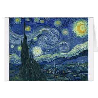 Stary Night by Vincent Van Gogh Greeting Card