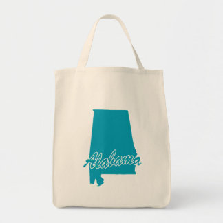 State Alabama Tote Bag