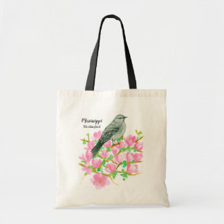 State Bird of Mississippi Mockingbird Tote Bag
