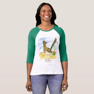 State Bird of New Mexico Roadrunner Yucca T-Shirt