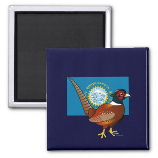 State Birdorable of South Dakota: Common Pheasant Magnet