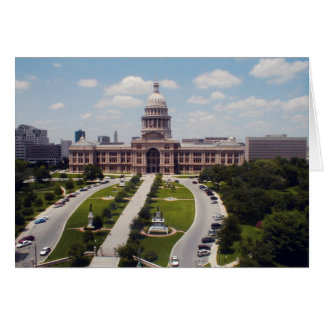State Capital - Austin, Texas Card