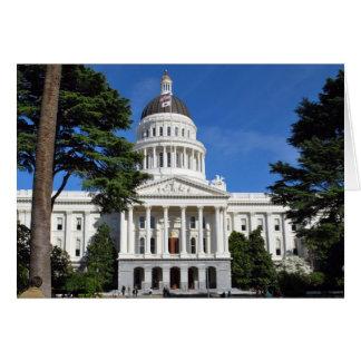 State Capitol Building - Sacramento CA Card