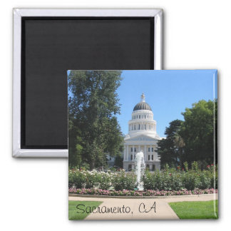 State Capitol Sacramento CA Magnet