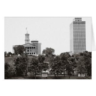 State Captiol Nashville Tennessee Card
