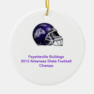 State Champ Fayetteville Ornament