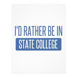 State College Letterhead