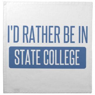 State College Napkin