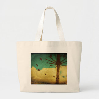 State Fair Amusement Park Rides Large Tote Bag