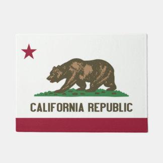 State Flag of California Door Matt Doormat