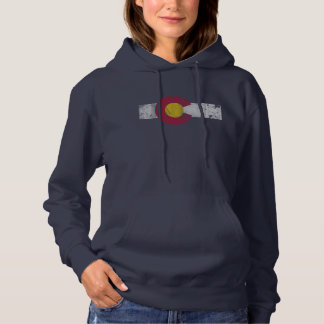 State Flag of Colorful Colorado Hoodie