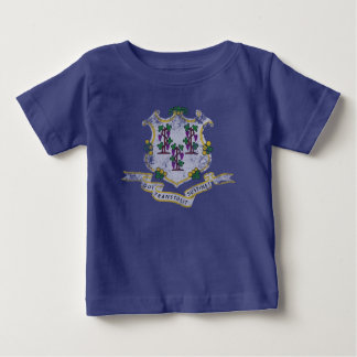 State Flag of Connecticut Baby T-Shirt
