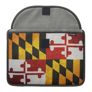 State Flag of Maryland Sleeve For MacBooks