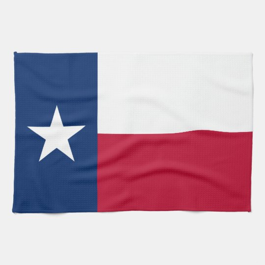 State Flag of Texas Kitchen Towel