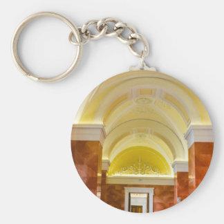 State Hermitage Museum St. Petersburg Russia Basic Round Button Keychain