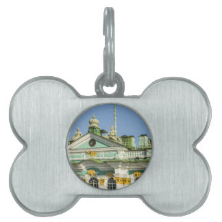 State Hermitage Museum St. Petersburg Russia Pet Name Tags