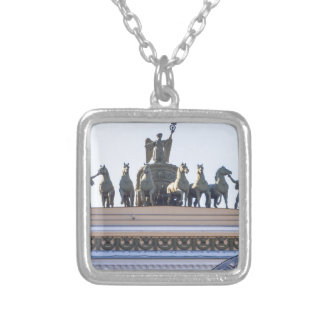 State Hermitage Museum St. Petersburg Russia Silver Plated Necklace