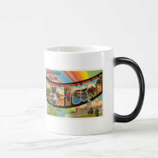 State Kentucky KY Old Vintage Travel Souvenir Magic Mug