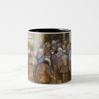 State Lottery Office (Poor Money) Vincent van Gogh Two-Tone Coffee Mug