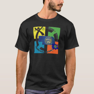 STATE NEBRASKA MOTTO GEOCACHER T-Shirt