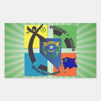 STATE NEVADA MOTTO GEOCACHER STICKER