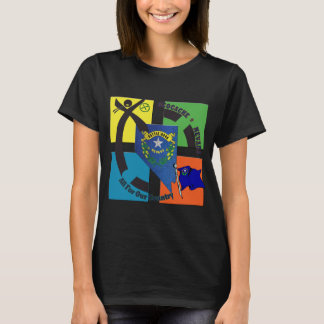 STATE NEVADA MOTTO GEOCACHER T-Shirt