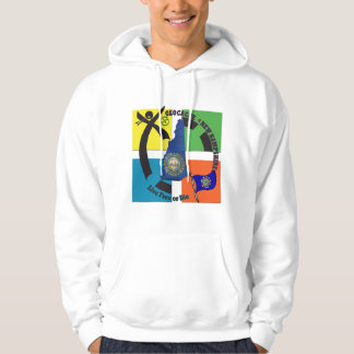 STATE NEW HAMPSHIRE GEOCACHER HOODIE