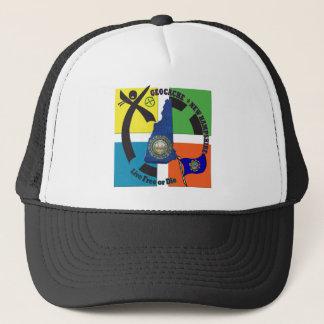 STATE NEW HAMPSHIRE GEOCACHER TRUCKER HAT