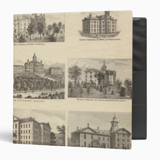 State normal schools and State University Vinyl Binder