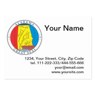 State of Alabama seal Business Card