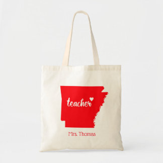 State of Arkansas Personalized Teacher Tote