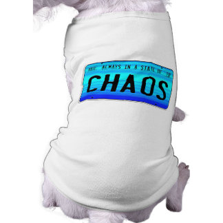 State of Chaos Dog Clothes