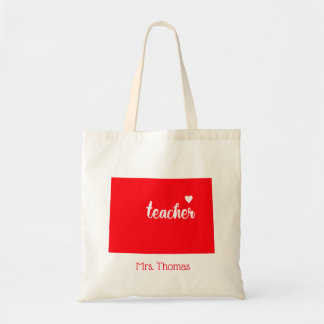 State of Colorado Personalized Teacher Tote
