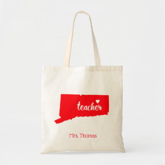 State of Connecticut Personalized Teacher Tote