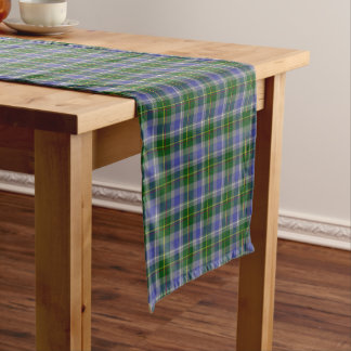 State of Connecticut Tartan Short Table Runner