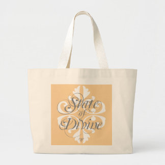 """""""State of Divine"""" Carryall Large Tote Bag"""