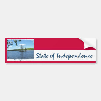 State of Independence: Island Bumper Sticker