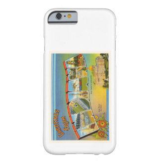 State of Indiana IN Old Vintage Travel Souvenir Barely There iPhone 6 Case