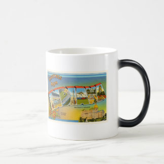 State of Indiana IN Old Vintage Travel Souvenir Magic Mug