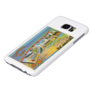 State of Indiana IN Old Vintage Travel Souvenir Samsung Galaxy S6 Cases