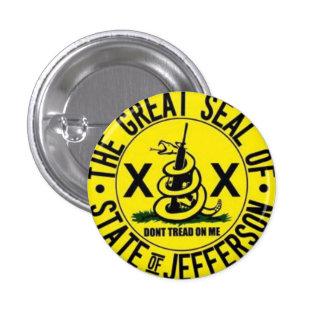 State of Jefferson 1 Inch Round Button