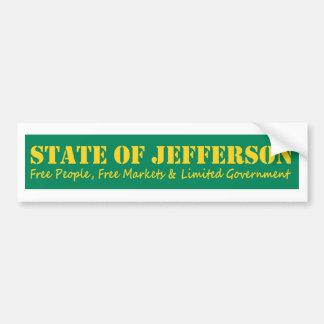 State of Jefferson bumber sticker