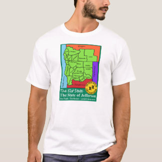 State of Jefferson - The 51st State T-Shirt