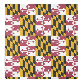 State of Maryland Duvet Cover